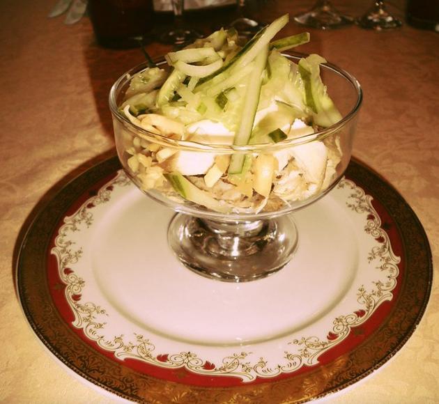 Холодные блюда салаты 46